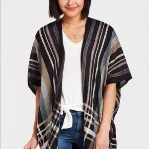 Echo Striped Kimono
